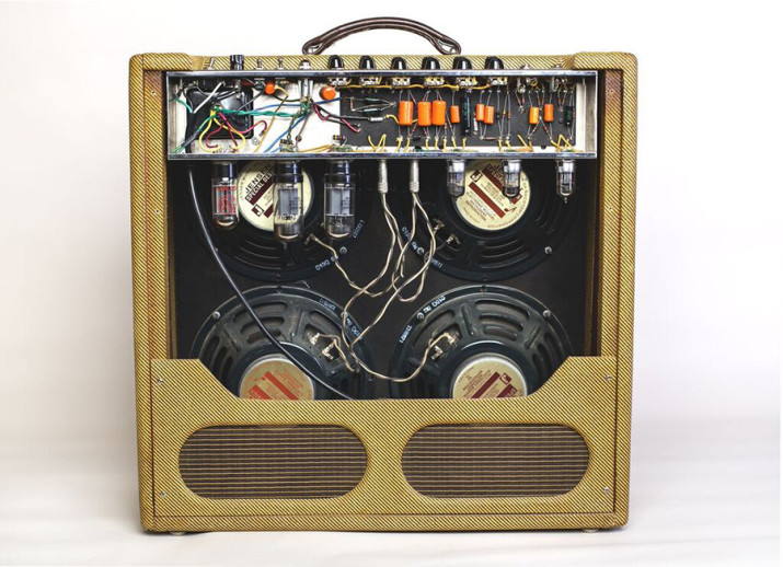 *Amp shown without back panel.