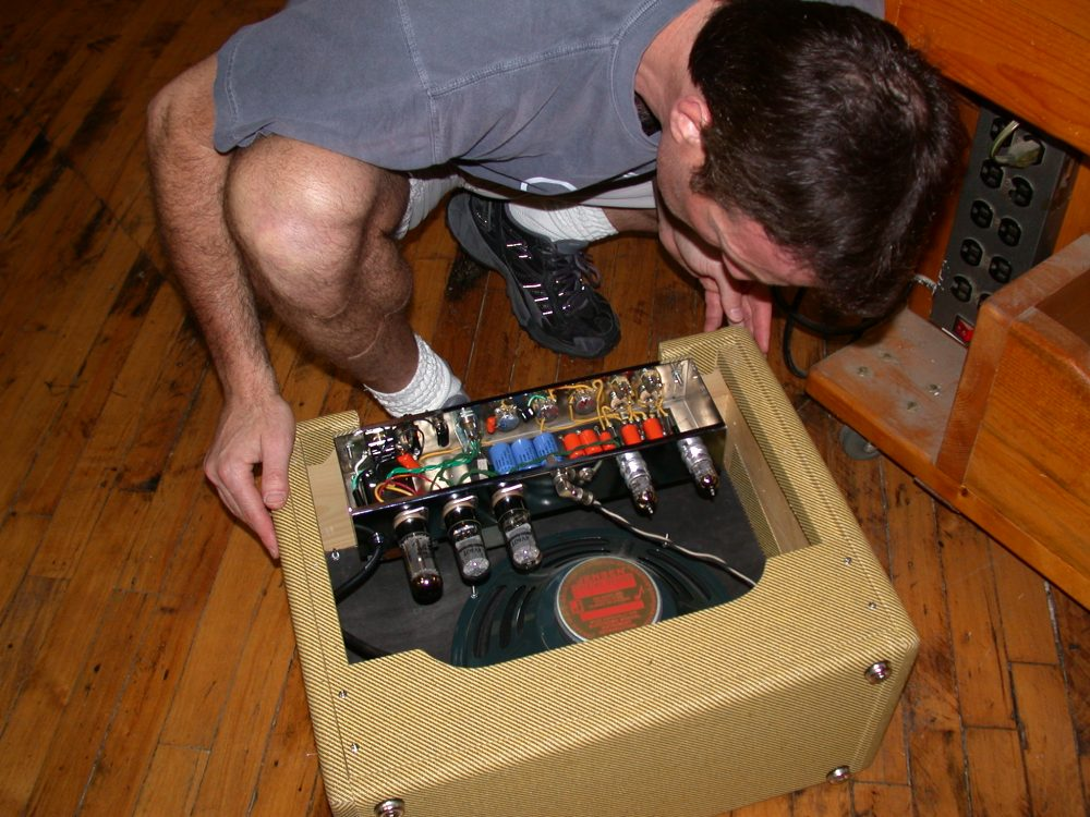 Tube Amp Making: Guitar, Bass, Stereo Hi Fi