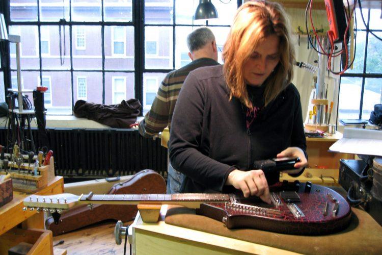 Guitar Electronics Repair Student