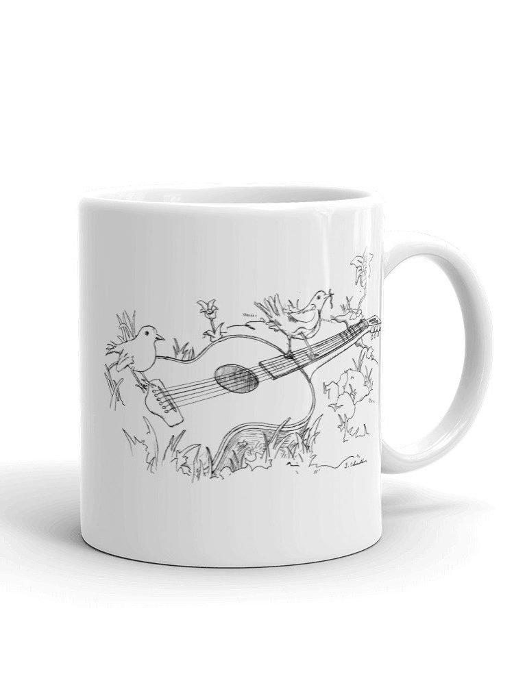 Specimen Birdsong Mug View Front