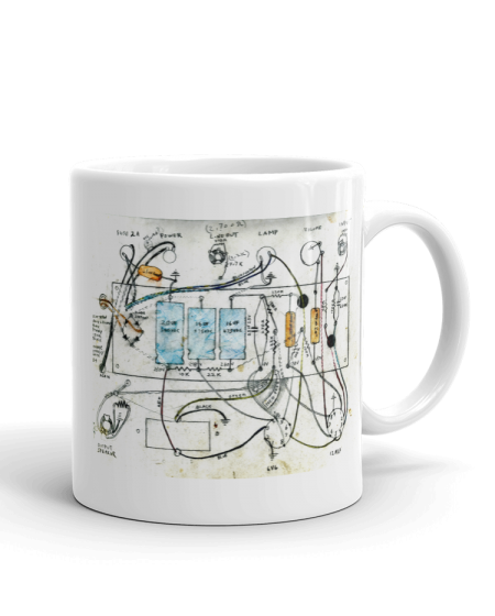 Specimen Single Ended Tube Amp Schematic SPECIMEN MUG